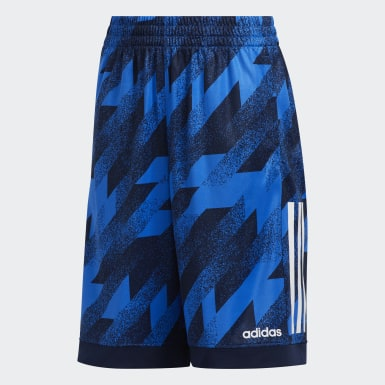 Youth Training Blue Universal Clashes Shorts