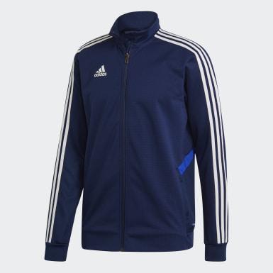 Veste d'entraînement Tiro 19 bleu Hommes Soccer