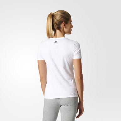 Polera Special Linear Blanco Mujer Training
