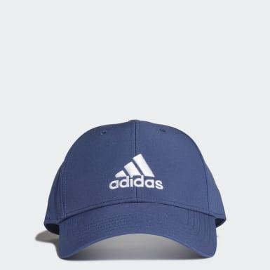 Cappellino Baseball Blu Tennis