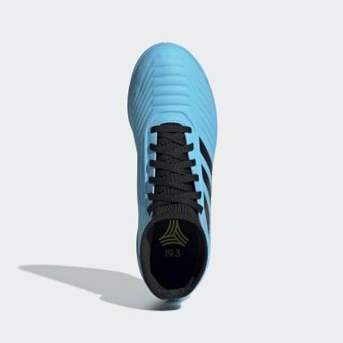 Calzado de Fútbol Predator Tango 19.3 Bajo Techo Turquesa Niño Fútbol