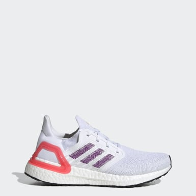 Women's Running White Ultraboost 20 Shoes