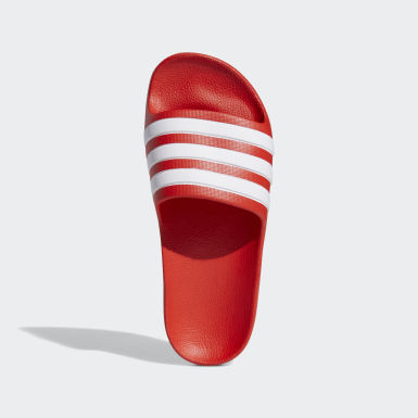 Children Essentials Red Adilette Aqua Slides