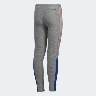 Youth Training Grey AEROREADY Core Favorite Tights