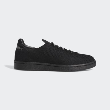 Originals Black Pharrell Williams Superstar Primeknit Shoes