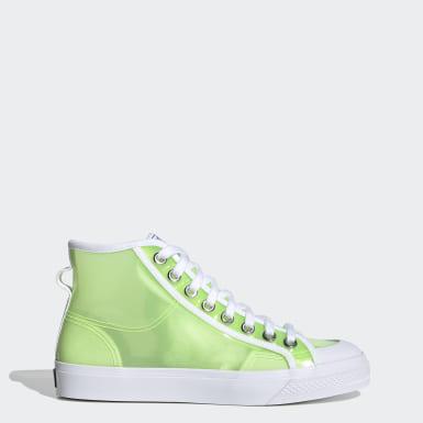 Kvinder Originals Grøn Nizza Hi Jelly sko