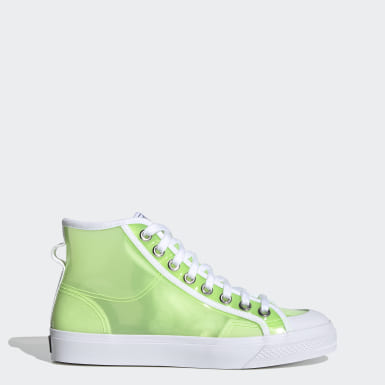 Women Originals Green Nizza Hi Shoes