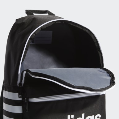 Children Training Black Classic 3-Stripes Backpack