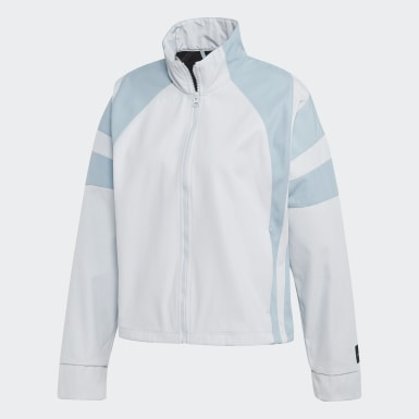 Track Jacket EQT Blu Donna Originals