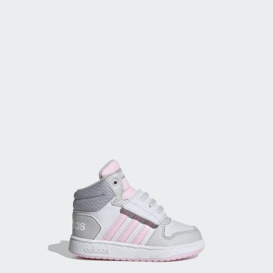 Infant & Toddler Essentials Grey Hoops 2.0 Mid Shoes