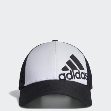 Boys Golf Black Gradient Trucker Cap