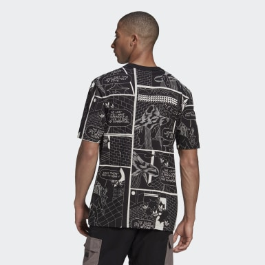 Men Originals Black R.Y.V. Graphic Tee