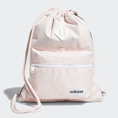 Training Pink Classic 3-Stripes Sackpack