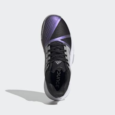 Chaussure CourtJam Bounce noir Femmes Tennis