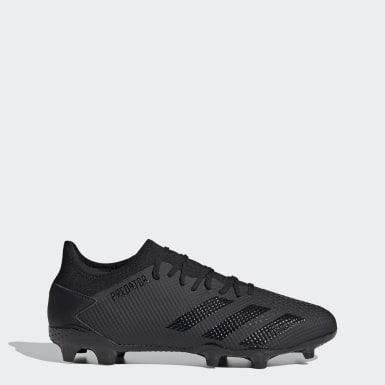 Football Black Predator Mutator 20.3 Low Firm Ground Boots