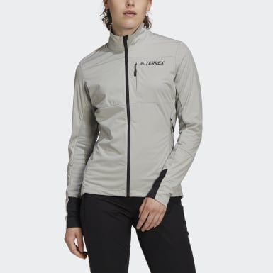 Women TERREX Grey Terrex Agravic XC Soft Shell Jacket