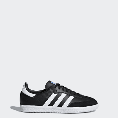 Kids Originals Black Samba OG Shoes