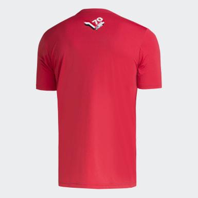Camisa São Paulo adidas 70 anos Vermelho Homem Futebol