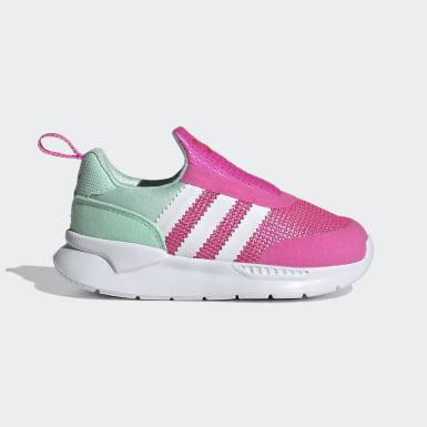 Infants Originals Pink ZX 360 Shoes