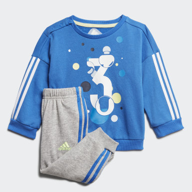 Tuta Summer Jogger Blu Bambini Training