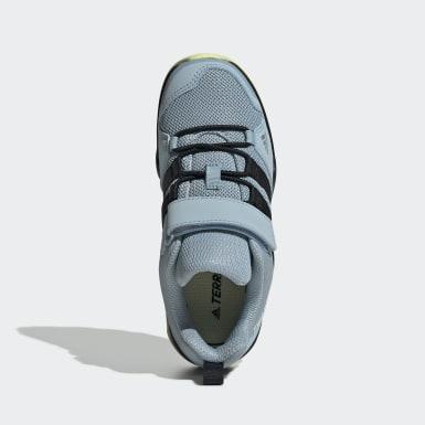 Zapatillas de Senderismo AX2R CF Azul Niño Senderismo