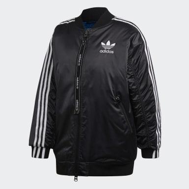 черный Утепленная куртка-бомбер