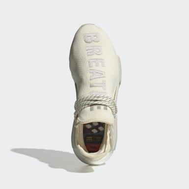 Männer Originals Pharrell Williams Hu NMD Schuh Beige