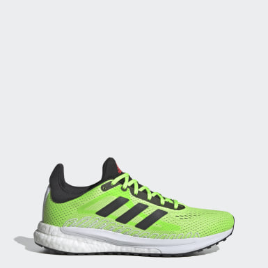 Dames Hardlopen Groen SolarGlide 3 Schoenen