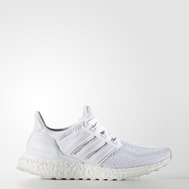 Chaussure Ultra Boost blanc Adolescents Course