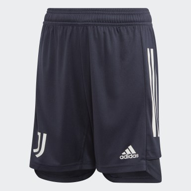 Barn Fotboll Blå Juventus Training Shorts
