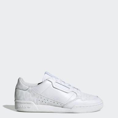 Adidas Continental 80 Laufschuhe Online Shop Damen Rosa Weiß