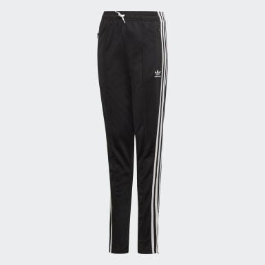 Girls Originals Black High-Waisted Pants