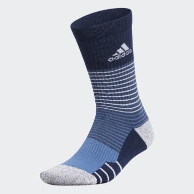 Men Golf Blue Tour360 Socks