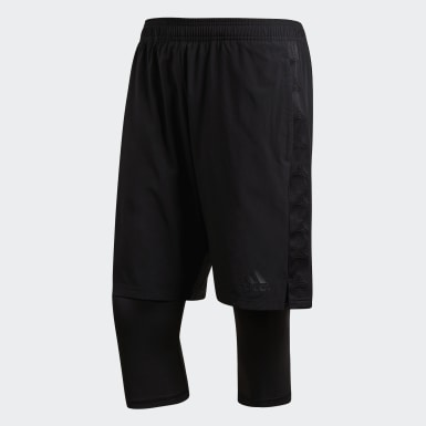 Men Football Black Tango Shorts