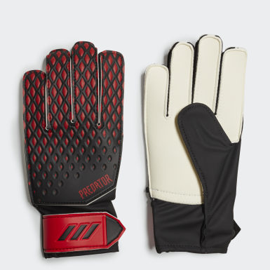 Youth Soccer Black Predator 20 Training Gloves