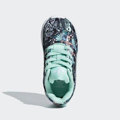 Infant Originals Turquoise ZX Flux Shoes