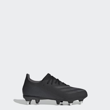 Boys Fotboll Svart X Ghosted.3 Soft Ground Boots