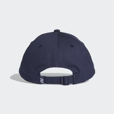 Boné Beisebol Trefoil Azul Originals