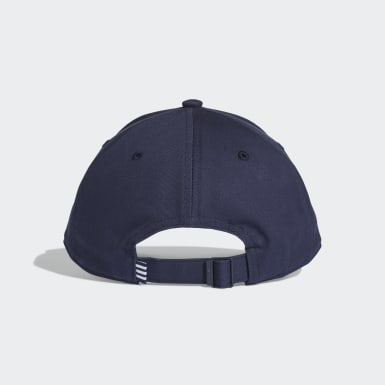 Cappellino Trefoil Baseball Blu Originals