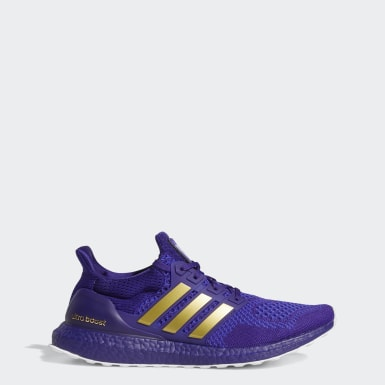 Running Purple ULTRABOOST NCAA 1.0 SHOES