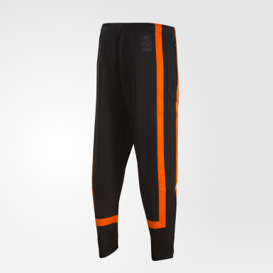 Men Originals Black Warm-Up Track Pants
