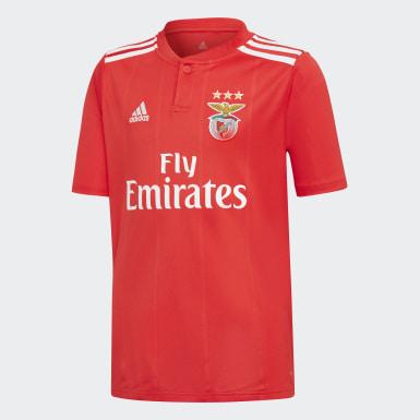 Jungen Fußball Benfica Lissabon Heimtrikot Rot