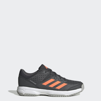 Youth 8-16 Years Squash Grey Court Stabil Shoes