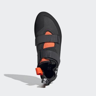 Men Five Ten Grey Five Ten Kirigami Rental Climbing Shoes