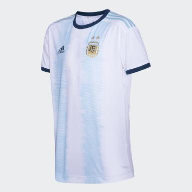 AFA H JSY P Blanco Hombre Fútbol