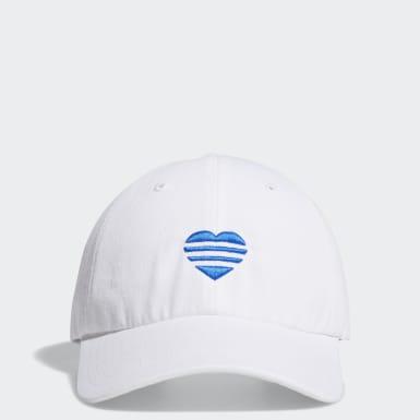 Gorra Heart 3 bandas Blanco Mujer Golf