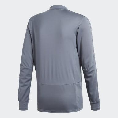 Camiseta manga larga entrenamiento Condivo 18 Player Focus Gris Hombre Training