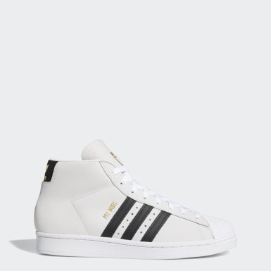 Men's Originals White Pro Model Shoes