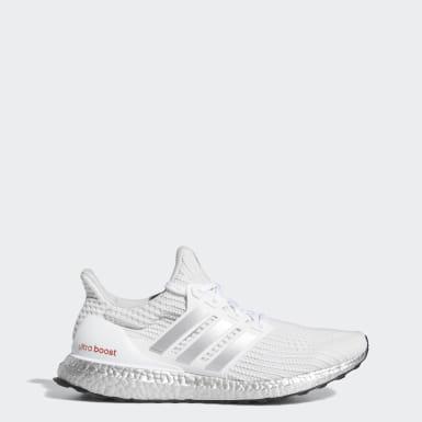 Men Running White Ultraboost 4.0 DNA Shoes
