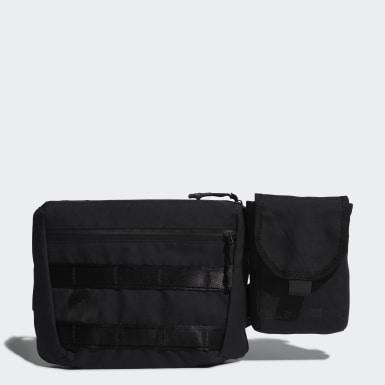 เทรนนิง สีดำ กระเป๋าสะพายไหล่ 4CMTE